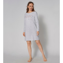 Triumph Nightdresses Nachthemd (Strickware), Langarm 10 medium grey melange 36