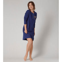 Triumph One-Piece NIG-ALL Nightdresses NDK CHARACTER BUTTONS X sapphire blue 36