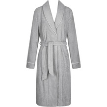 Triumph Robes SS18 LONG (Bade-)Mantel silver grey 36