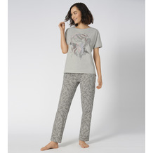 Triumph Sets Pyjama 10 X medium grey melange 36