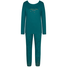 Triumph Sets Pyjama (Strickware), Langarm 10 mystic sea 36