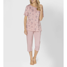 Triumph Timeless Cotton Pyjama (Strickware), Kurzarm opal pink 38