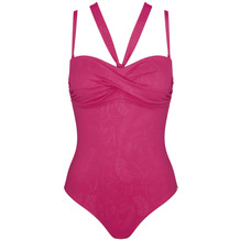 Triumph Venus Elegance Badeanzug mit gepolsterten Cups und abnehmbaren Trägern raspberry ripple 38B