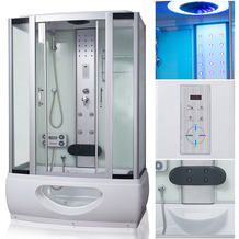 Tronitechnik Duschtempel Badewanne TINOS 135x80