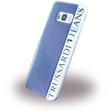 Trussardi Black Frame - Silikon Case - Samsung G950 Galaxy S8 - Schwarz