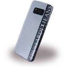 Trussardi Glitter - Silikon Case - Samsung G950 Galaxy S8 - Silber
