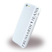 Trussardi Glitter - Silikon Cover - Apple iPhone 6, 6S - Silber
