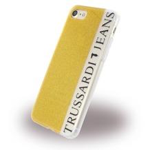 Trussardi Glitter - Silikon Cover - Apple iPhone 7 / 8 - Gold