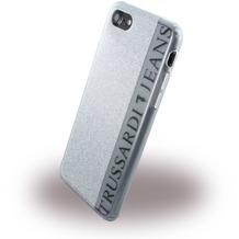 Trussardi Glitter - SilikonCover - Apple iPhone 7 - Silber