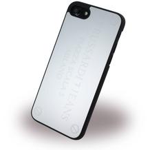 Trussardi Metall Hardcover - Apple iPhone 7 - Silber