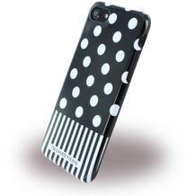 Trussardi Pois - Silikon Cover - Apple iPhone 7 / 8 - Schwarz