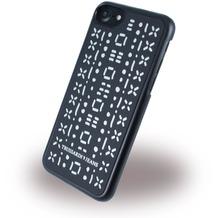 Trussardi Stitches Rigid - Hardcover - Apple iPhone 6/6s/7 - Schwarz