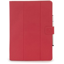 Tucano Facile Plus, universelles Case für 10 Zoll Tablets mit Standfunktion, rot