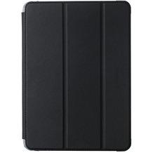 Tucano Guscio für iPad 9,7 (2017) Ultra Schutzcase mit abnehmbarem Deckel und Standfunktion, schwarz