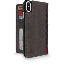 twelve south BookBook for iPhone X - brown