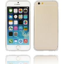 Twins Aluminium Bumper für iPhone 6 Plus, silber