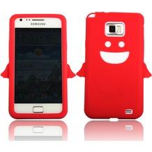 Twins Angel für Samsung i9100 Galaxy S2, rot