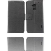 Twins BookFlip für HTC One max, schwarz