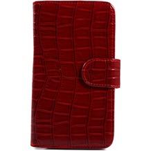Twins BookFlip Red Dragon für Samsung Galaxy Note 2, dunkelrot
