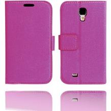 Twins BookFlip Smooth für Samsung Galaxy S4, purpur