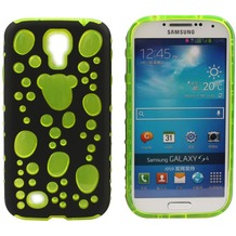 Twins Bubble Bath für Samsung Galaxy S4, schwarz-grün