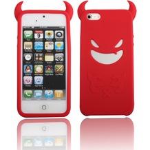 Twins Devil für iPhone 5/5S/SE, rot