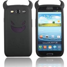 Twins Devil für Samsung Galaxy S3, schwarz