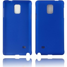 Twins Hardcase Softtouch für Galaxy Note 4,blau