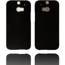 Twins Hardcase Softtouch für HTC M8,schwarz