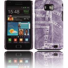 Twins Jeans für Samsung i9100 Galaxy S2, lila