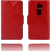 Twins Kunstleder Flip Case für LG G2,rot