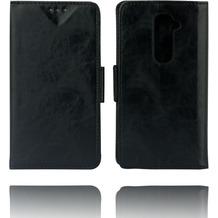 Twins Kunstleder Flip Case für LG G2,schwarz