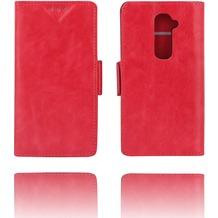 Twins Kunstleder Flip Case LG G2, rose