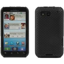 Twins Perforated für Motorola Defy, schwarz