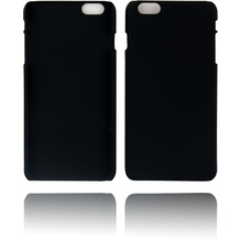 Twins Rubber oil finished Case für iPhone 6 Plus schwarz Matt
