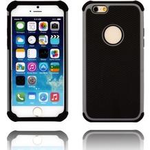 Twins Rugged Case für iPhone 6, zweiteilig, schwarz/grau