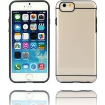 Twins Shield Akzent - Schutzhülle für iPhone 6 Plus, transparent/schwarz