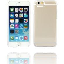 Twins Shield Akzent - Schutzhülle für iPhone 6 Plus, transparent/weiß