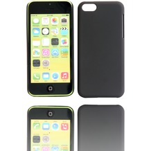 Twins Shield Matte für iPhone 5C, schwarz