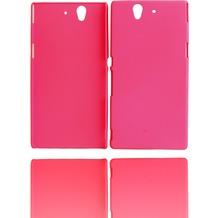 Twins Shield Matte für Sony Xperia Z, pink