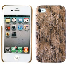 Twins Shield Wood für iPhone 4/4S, dunkelbraun