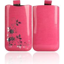 Twins Shiny Pouch Elegance für iPhone 3G/4/4S, pink