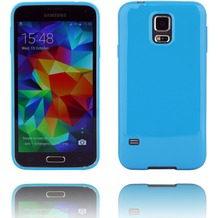 Twins Soft Case Galaxy S5,blau