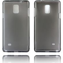 Twins Softcase Struktur für Galaxy Note 4,schwarz