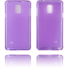 Twins Soft Case Struktur für Galaxy Note 4,lila
