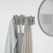 umbra Garderobe STICKS MULTI HOOK 5, grau