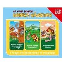 Universal Music Die kleine Schnecke Monika Häuschen - Hörspielbox Vol. 4 Hörspiel