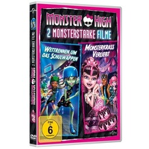 Universal Pictures Monster High - Monsterkrass verliebt & Wettrennen um das Schulwappen, DVD