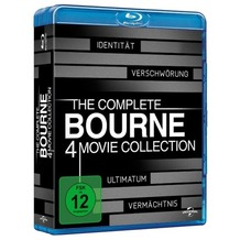 Universal Pictures Bourne Collection 1-4 [Blu-ray]