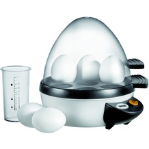 Unold 38641 Eierkocher, weiß-anthrazit